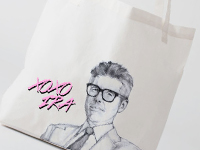 Ira Glass Heartthrob Tote