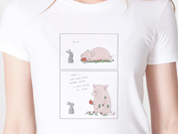 Liz Climo 'I Love Salad' Shirt